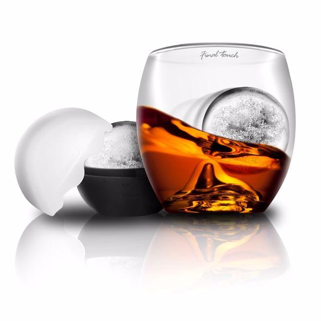 Rock glass Szklanka do Whiskey z Kula prezent dla niego warszawa