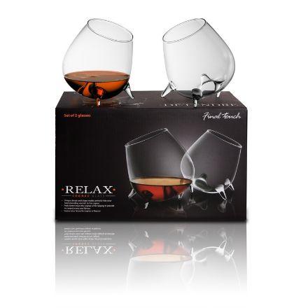Relax Cognac Zestaw prezent dla szefa