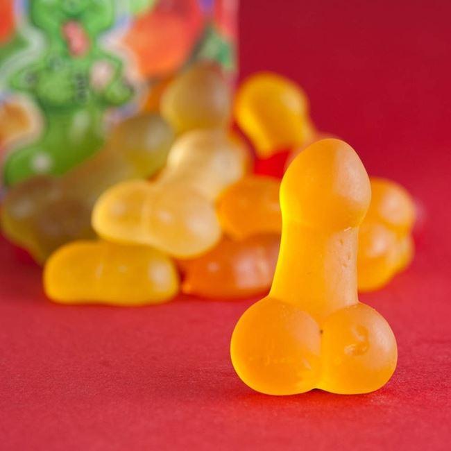 Żelki Peniski słodycze na wieczór panieński warszawa
