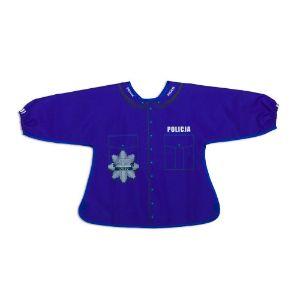 Śliniak z rękawami policja prezent dla chłopca warszawa