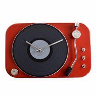 Zegar gramofon czerwony prezent dla niej