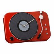 Zegar gramofon czerwony prezent dla niej warszawa