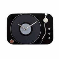 Zegar gramofon czarny prezent dla niej warszawa