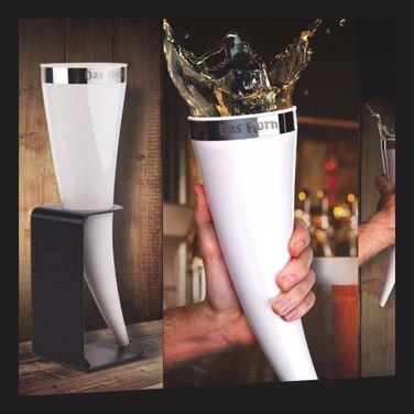 Róg wikinga świetny kufel na prezent dla mężczyzny