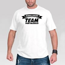 Koszulka - Kawalerski Dream Team gadżety na wieczór kawalerski