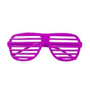 Okulary żaluzje różowe gadżety imprezowe
