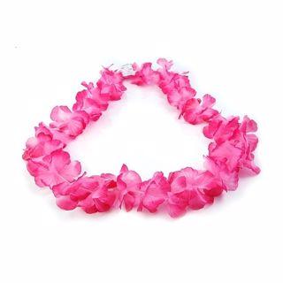 Naszyjnik hawajski różowy gadżety imprezowe warszawa