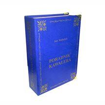 Książka poradnik kawalera niebieska prezent na wieczór kawalerski