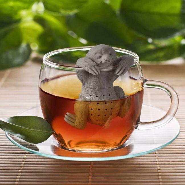 Zaparzaczka do herbaty leniwiec prezent dla dziewczyny warszawa