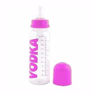 Dziecięca butelka wódki różowa prezent dla dziewczynki