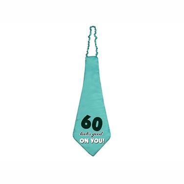 Krawat na 60 urodziny prezent dla niego