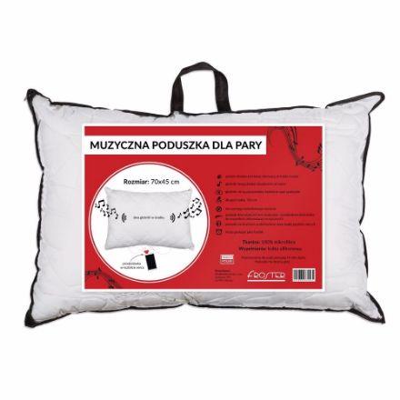 Muzyczna poduszka dla dwojga prezent dla niej warszawa