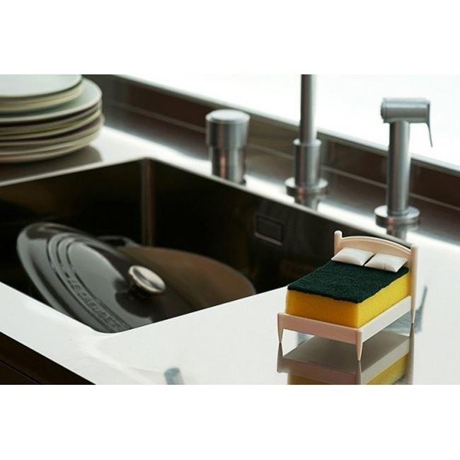 Łóżeczko na gąbki gadżety kuchenne