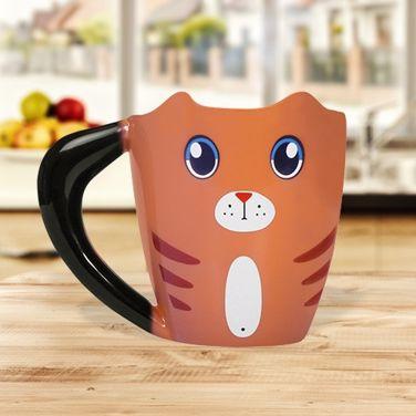 Magiczny Kubek Kot rudzielec prezent dla niej