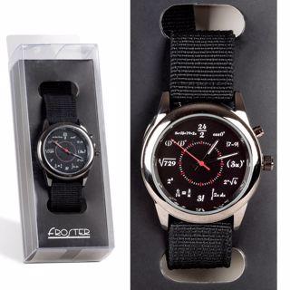 Zegarek na rękę dla matematyka prezent dla niego
