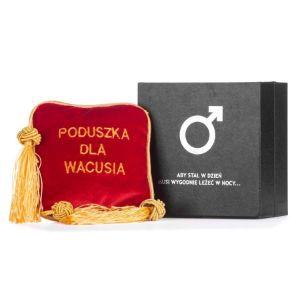 Poduszka na wacusia wersja polska prezent dla niego