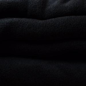 Kocyko szlafrok z rękawami czarny kolor dla mężczyzny