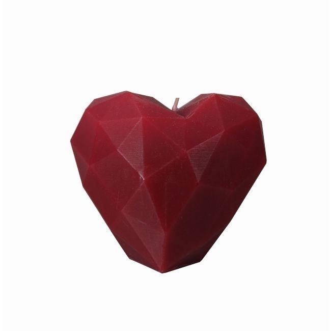 Świeca miłości bordo prezenty warszawa