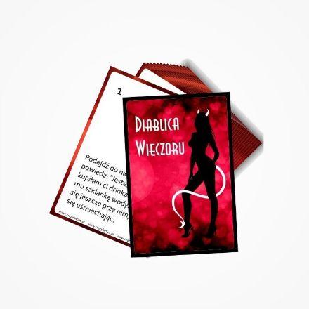 Diablica wieczoru karty z wyzwaniami panieński warszawa