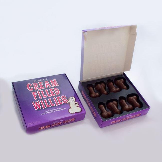 nadziewane czekoladowe peniski wieczór panieński warszawa