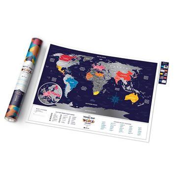 mapa zdrapka prezent dla dziewczyny