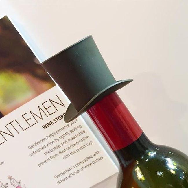 zatyczka dzentelmena akcesoria do wina