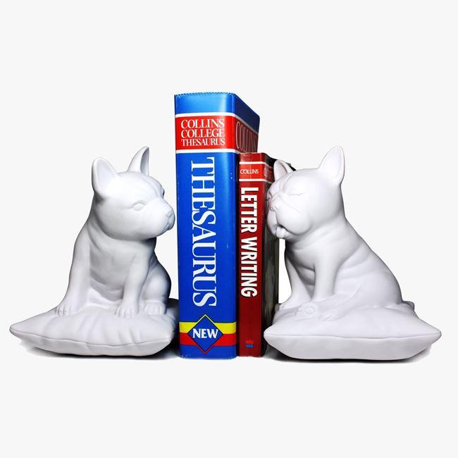 podpórki do książek buldogi francuskie prezent dla niej