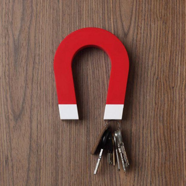 magnetyczna podkowa na klucze prezent dla taty