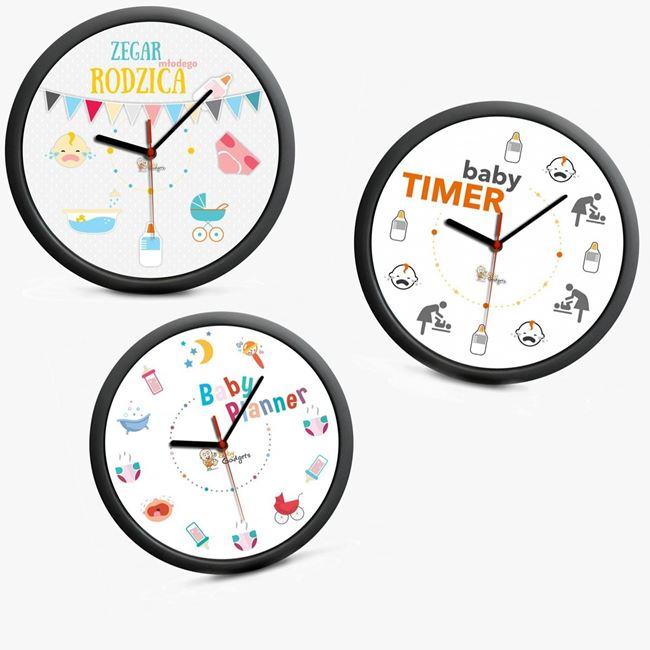 zegar młodych rodzców prezent dla niej