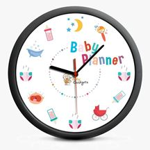 zegar baby plamner prezent dla rodziców warszawa