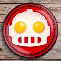 Forma do Jajek  Robot Sadzony gadzety kuchenne dla dzieci