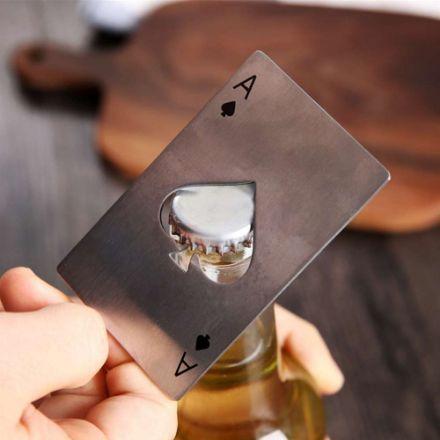 Pokerowy otwieracz As pik prezent dla niego