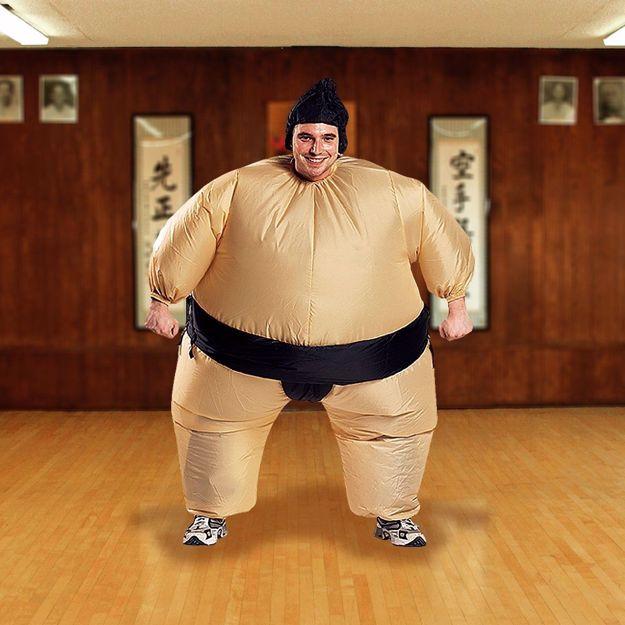 kostium zawodnika sumo śmieszne przebrania