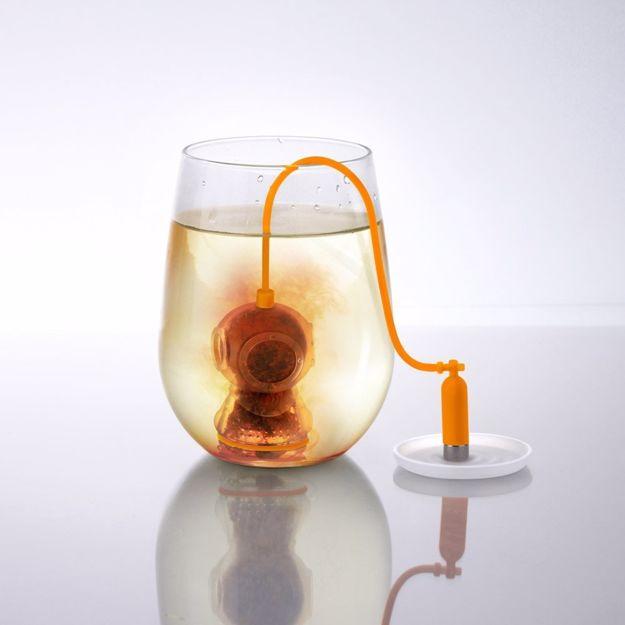 Zaparzaczka do herbaty Nurek gadzety kuchenne