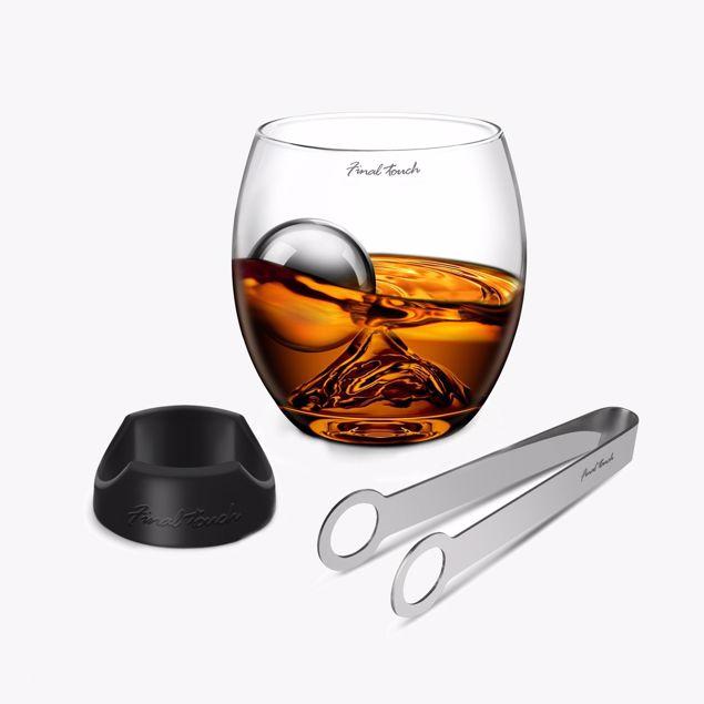 Zestaw do Whiskey - On The Rocks – Premium prezent dla niego
