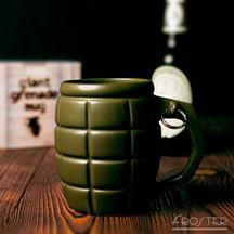 Gigantyczny kubek granat zielony prezent dla niego