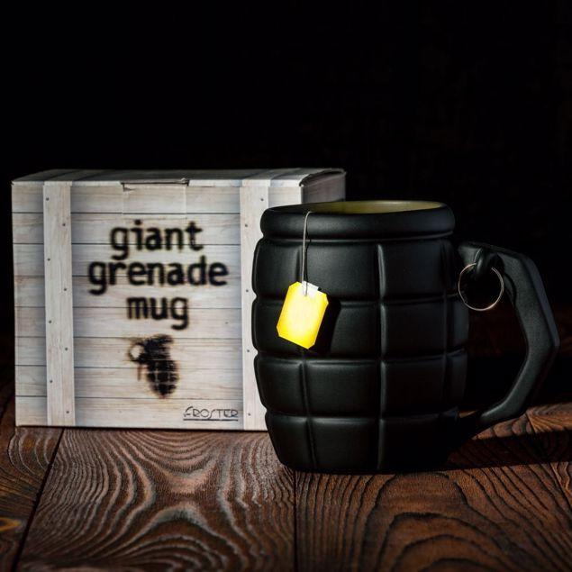 Gigantyczny Kubek granat prezent dla niego
