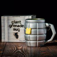 Gigantyczny kubek granat [prezent dla chłopaka