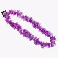 Naszyjnik hawajski fioletowy gadżety na wieczór panieński