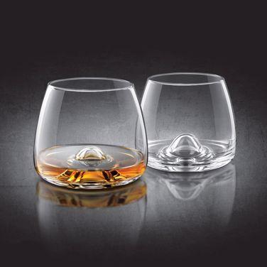 Fine crystal szklanki do whiskey prezent dla szefa