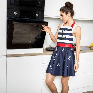 Fartuszek Sukienka – Nitly Marine Prezent dla mamy warszawa