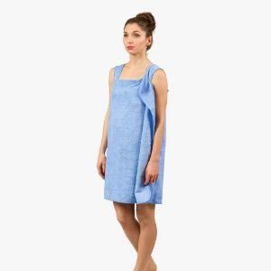 Ręczniko-Szlafrok – Niebieski prezent dla niej