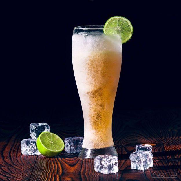 Lodowe szkło do piwa prezent dla piwosza