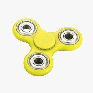 Fidget Spinner – Żółty Prezent dla niego