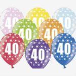 Balony Jubileuszowe Prezenty na urodziny warszawa