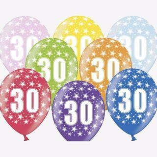 Balony na 30 urodziny warszawa