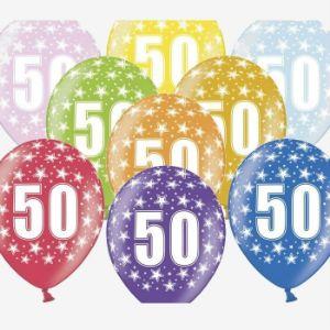 Balony na 50 urodziny warszawa