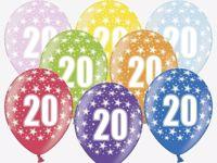 Balony na 20 urodziny Warszawa