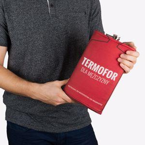 Gigantyczna piersiówka termofor dla mężczyzny prezent dla niego