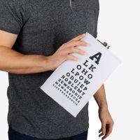 Gigantyczna Piersiówka tester wzroku prezent dla Ojca